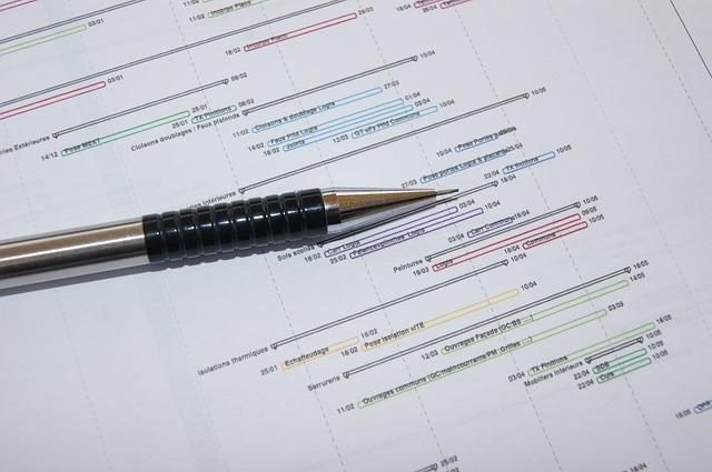 Rétroplanning utilisé pour la construction d'un plan d'animation commerciale