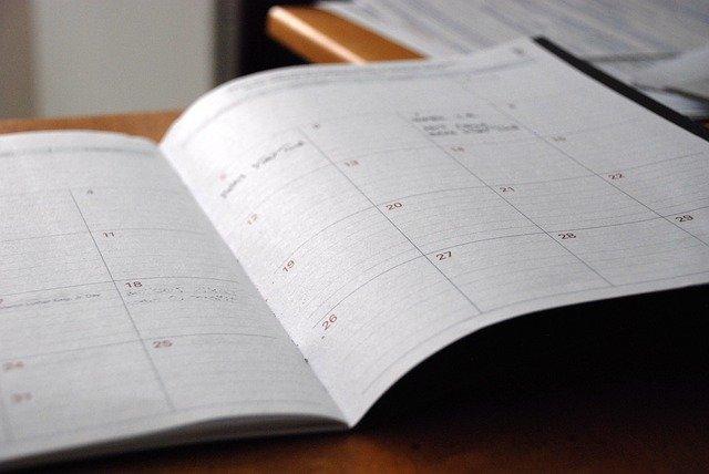 Un calendrier des animations commerciales faisant partie du plan d'animation commerciale