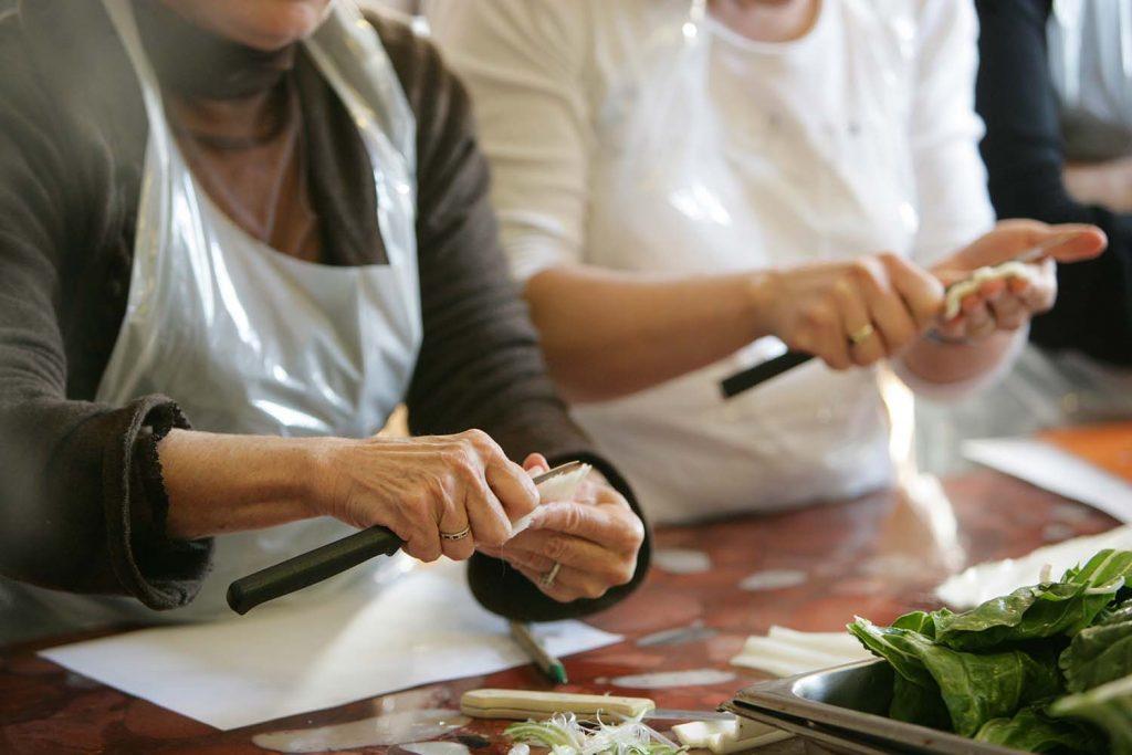 Un atelier culinaire comme exemple d'animation commerciale